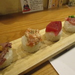 60823037 - 寿司花げた8種