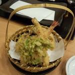 日本橋 からり - 旬盛り晩酌セット 天ぷら