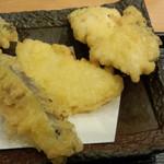 日本橋 からり - からり天ぷら御膳(ヒレ、玉ねぎ、茄子)