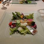 トゥールモンド - 前菜:魚介のマリネ盛り合わせ