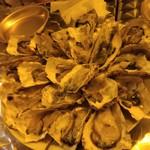 かき小屋フィーバー ザ・バル - 生牡蠣(2016/12)