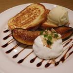 Toasty's - フレンチトーストバナナブリュレ