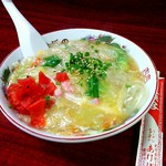あけぼのラーメン - 中華丼 \650