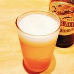 ひつまぶし名古屋備長 - 鰻にビールでしょ?!(笑)