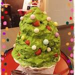 吾妻茶寮 - クリスマスツリーかき氷