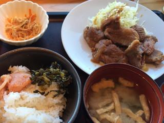 やまや - 豚肉生姜焼き定食¥1000