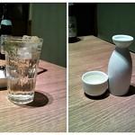 地酒とそば・京風おでん 三間堂 - 蕎麦茶割り&熱燗