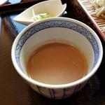 そば処 長尾根 - 料理写真:くるみ汁