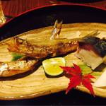 60837721 - 焼物(本シシャモ)、サバ寿司