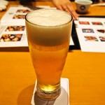 美々卯 - 生ビール