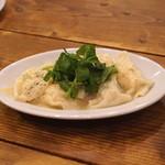 大衆ビストロ ジル - 海老とクレソンのビストロ餃子 アンチョビバター風味