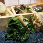畑の惣菜 盛り合わせ(五菜盛り)