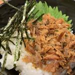 おぼろや - ★★★ 鯖のへしこ  味が濃い目なので少しでもご飯のお供になります