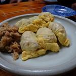 喜多八  - 炊き込みご飯の卵包み