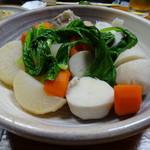 60848214 - 塩豚と根菜の煮物