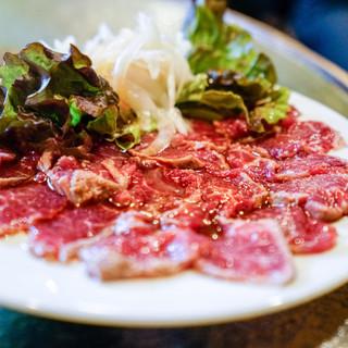 Bistro ひつじや - 料理写真:ひつじレアステーキ