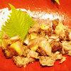 【名物】宮崎地鶏のもも肉 タタキ