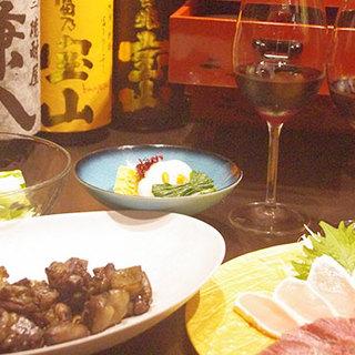■飲み放題でも美味しいお酒が楽しめます