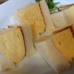 喫茶マドラグ - コロナの玉子サンド