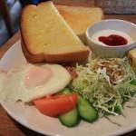 Cafe Garden P.o.t - プラス260円のモーニングセット
