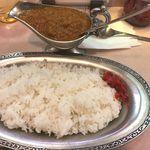 タンドゥール - インドカレーとご飯 ¥750