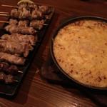 居酒屋 稗 - 串と山芋とチーズの鉄板焼