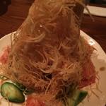 居酒屋 稗 - ジャガイモのサラダ
