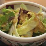 味吉野 - サラダのドレッシング美味しい♪