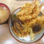 豊野丼 - 豊野丼1000円としじみの味噌汁100円