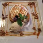 CAFE M - キャラメルロールケーキ