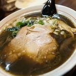 ラーメン屋 切田製麺 - 黒正油