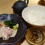 鯛めし魚然 - (2016/11月)鯛茶