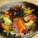鯛めし魚然 - (2016/11月)海鮮サラダ