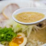 らーめん弥七 - スープ