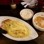 IBUKI -つけめんDINING- - つけ麺 820円 + 半ライス 110円