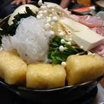 津駅前食堂 岸 - ちゃんこ鍋
