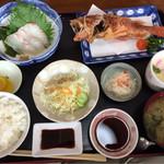 活魚 大力 - 料理写真:あらかぶ唐揚げ定食