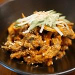 渋谷 道玄坂 肉寿司 - 肉チャンジャ