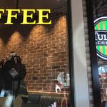タリーズコーヒー - 2017/01 廊下のテラス席から店内を