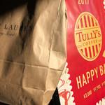 タリーズコーヒー - 2017/01 2017年元旦… タリーズコーヒー 御殿場プレミアム・アウトレット店でも福袋を販売してましたが、人気はイマイチ