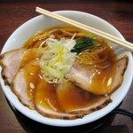 麺の風 祥気 - 中華そば(730円)+ 豚バラちゃーちゅー(230円)