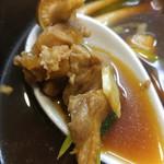 ラーメン哲史 - 鴨蒸篭風つけ麺-鴨モモ肉(2016/12)