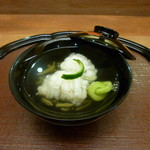 くずし懐石 縁 - 牡丹鱧の椀