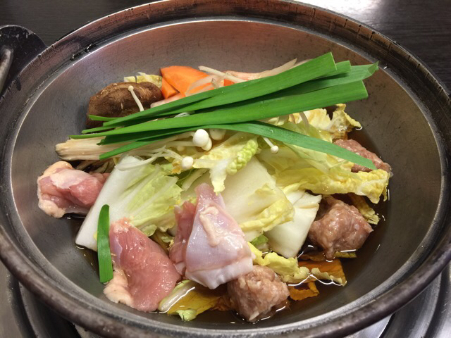 相撲茶屋 寺尾 - ちゃんこ鍋。