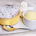 ドリア&グラタンなつめ - スフレパンケーキ