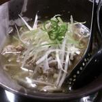 青唐爽麺 ハルク - ・青唐そば 780円