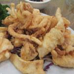 兩合海鮮打冷飯店 - 料理写真:椒鹽鮮魷