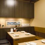居酒屋 朝次郎 - 半個室は16名様までご利用できます。