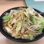 一口茶屋 - 料理写真:野菜ラーメン味噌 580円