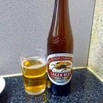 60877233 - 瓶ビール 小 380円